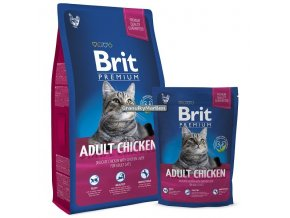 Brit Premium Cat Adult Chicken 800g