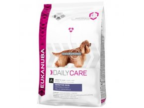 Eukanuba Daily Care Sensitive Skin Hmotnost  12kg