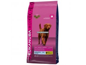 Eukanuba Adult Large Weight Control Hmotnost  12kg