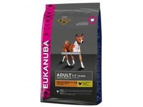 Eukanuba Adult Medium Breed Hmotnost  15kg