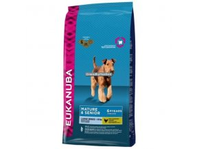 Eukanuba Mature and Senior Large Breed Hmotnost  12kg