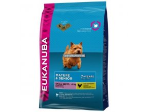 Eukanuba Mature and Senior Small Breed Hmotnost  3kg