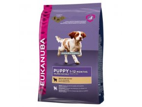 Eukanuba Puppy & Junior Lamb & Rice