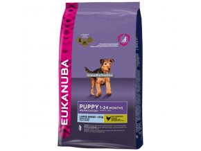 Eukanuba Puppy and Junior Large Breed Hmotnost  15kg