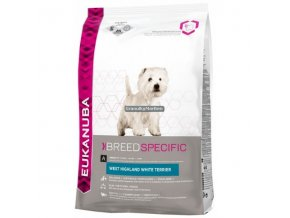 Eukanuba West Highland White Terrier Hmotnost  2,5kg