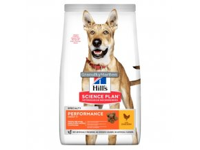 hills canine science plan adult performance chicken