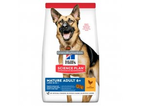 hills canine science plan mature adult 5 plus active longevity large breed with chicken