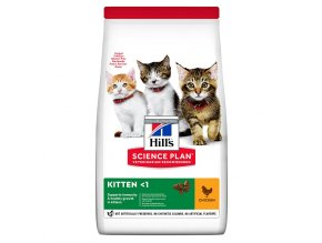 hills feline science plan kitten healthy development chicken