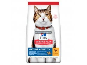 hills feline science plan mature adult 7 plus active longevity chicken