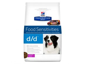 Hills canine diet dd duck and rice