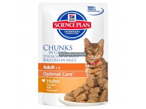 hills feline science plan adult with chicken