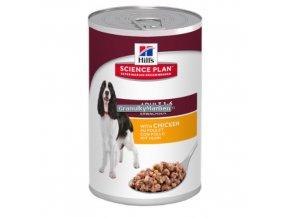 hills canine science plan adult medium savoury chicken
