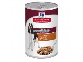 hills canine science plan adult medium savoury turkey