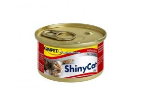Konzervy ShinyCat Kuře 2x70g