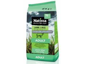 Nativia Dog Lamb and Rice 15kg