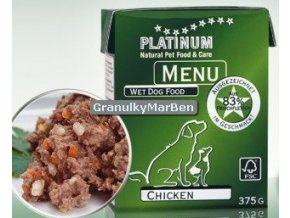 Platinum Dog Menu Pastika Kure