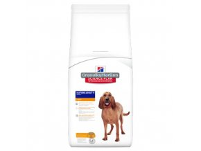 hills canine science plan mature adult 7 plus light active longevity with chicken