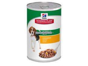 hills canine science plan puppy medium savoury chicken