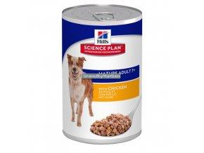 hills canine science plan mature adult 7 plus medium savoury chicken