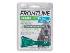 frontline combo spot dog 10 20kg