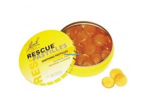 Krizové pastilky Rescue Pastilles pomeranč  50g