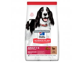 hills canine science plan adult advanced fitness medium lamb and rice