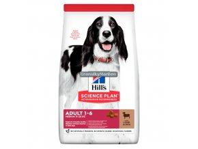 Hills sp canine adult medium lamb
