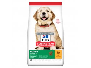 hills canine science plan puppy healthy development large breed chicken