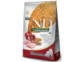 ND Low Ancestral Grain canine Puppy Medium CHICKEN