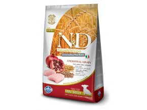 N&D Low Grain Dog Puppy Mini Chicken & Pomegranate