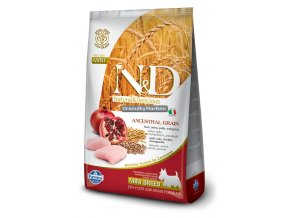 ND Low Ancestral Grain canine Adult Mini CHICKEN