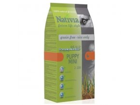 Nativia Puppy Mini Duck and Rice 3kg