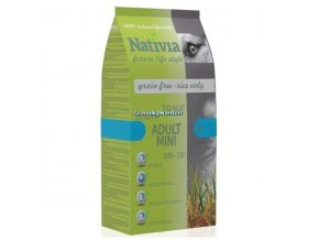 Nativia Dog Adult Mini Duck and Rice 3kg