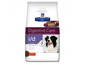 Hills canine diet id low fat