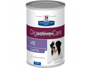 Konzerva Hills Canine Diet id low fat