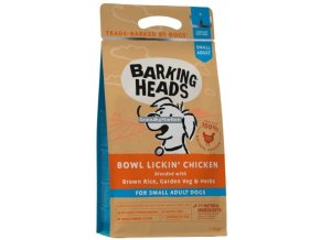 Barking Heads Small Breed Bowl Lickin Chicken