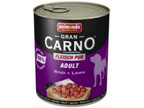 Konzerva Animonda Gran Carno Adult Hovězí a jehněčí 800g