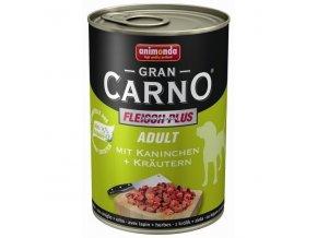Konzerva Animonda Gran Carno Adult Králík a bylinky 400g