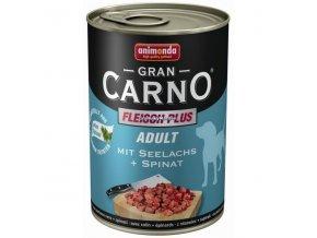 Konzerva Animonda Gran Carno Adult Treska a špenát 400g