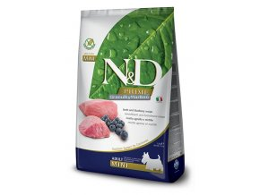 nd prime adult mini lamb blueberry