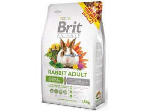 Brit Animals Rabbit Adult Complete (Králík) 3kg