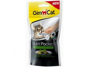 Pamlsky GimCat Nutri Pockets Šanta a multivitamínová pasta 60g