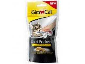 Pamlsky GimCat Nutri Pockets Sýr a taurin 60g