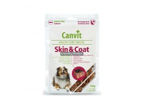 Canvit Snacks Skin and Coat Hmotnost  200g