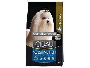 Cibau Adult Mini Sensitive Fish and Rice Hmotnost  800g