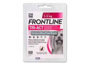 Frontline Tri-Act Spot-on XS (2-5 kg)
