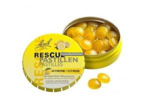 Krizové pastilky Rescue Pastilles citron 50g