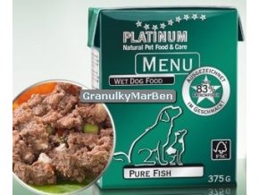 Platinum Dog Menu Pastika Ryby