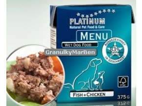 Platinum Dog Menu Pastika Kure ryby