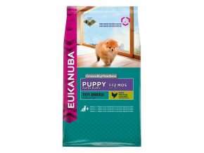 Eukanuba Dog Puppy Toy Breed Hmotnost  800g
